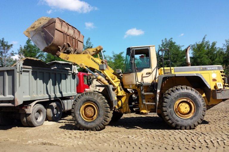 Transport rasutog građevinskog materijala 1