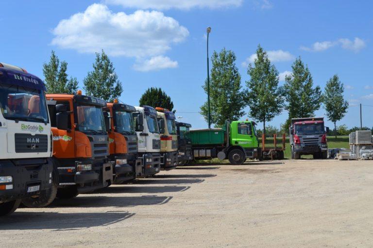 Transport rasutog građevinskog materijala 3